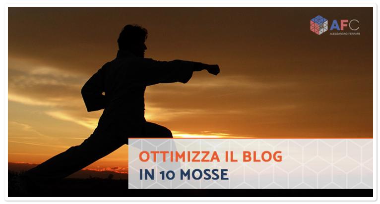 10 Cose da Considerare per Ottimizzare il Tuo Blog