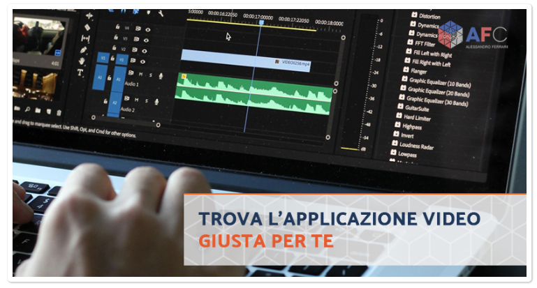 5 Programmi per Editare Video a Supporto del Tuo Business
